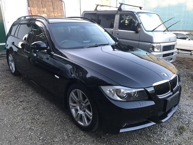 納車準備しております。BMW325i Mスポ 6気筒 E91