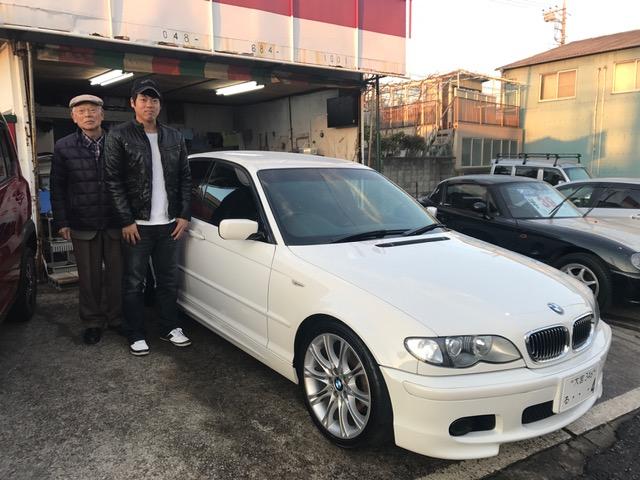 BMW320i Mスポ納車