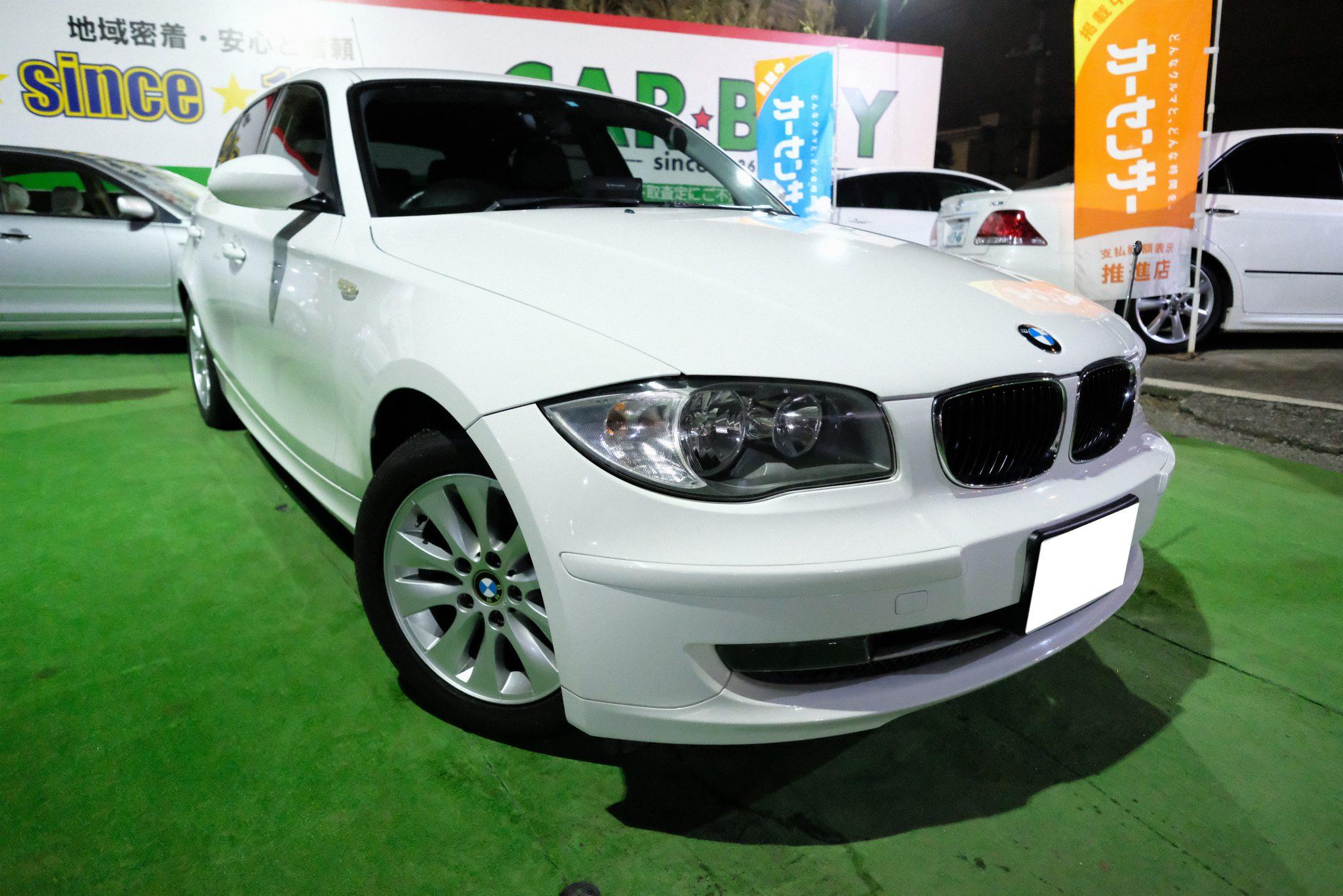 BMW 116i ご成約いただきました。