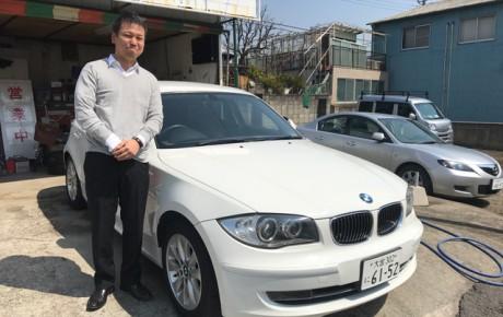 BMW116i 本日納車致しました。