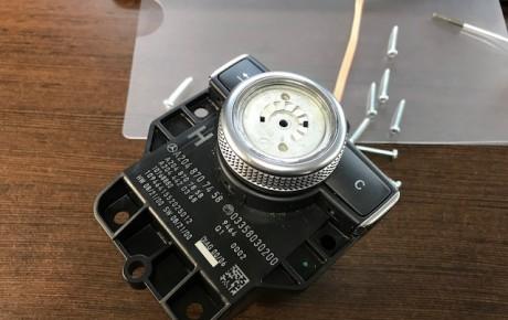ベンツ W204 コマンドコントローラ シャフト 修理