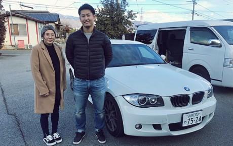 BMW130i Mスポーツ(山梨納車へ)
